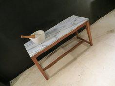 Mesa Rectangle [1.10 x 60 ]Tzalam + Mármol $ 11,500.00