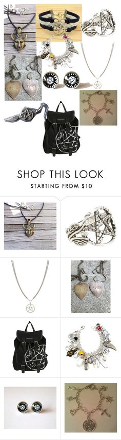 """""""Random supernatural thing"""" by chloe950 ❤ liked on Polyvore featuring Pamela Love, ASOS and Hot Topic"""