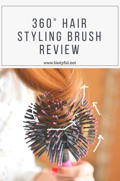This is the best curling brush you'll  ever use. It is highly recommend  to anyone, man or woman who wants to add volume, bounce or curl to their hair. It will be your go-to hair styling brush. #hair #haircare