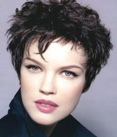 For Hairstyle Senior Short Mature Women - Bing Images Note:  This is such a flattering style for nearly everyone and any color.  Like the different lengths of the bang. And the look of thick unruly hairdo.  this is a classy pixie cut.