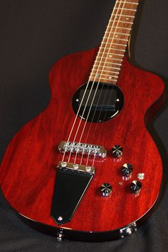 rick turner guitars | Rick Turner Model 1 Lindsey Buckingham (Burgandy Stain) SOLD!