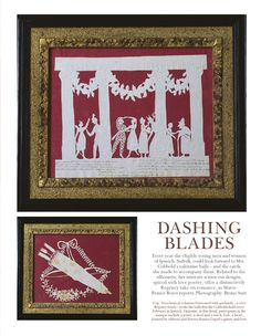 Elizabeth Cobbold's Paper Cut Valentines- World of Interiors, February 2014