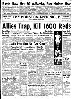 Aug. 6, 1950, Houston Chronicle