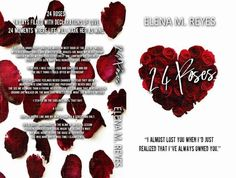 Surprise Cover Reveal & Giveaway!!!  I just couldnt wait any longer and had to share.  24 Roses will be released this March 27th and Im beyond excited to share this beautiful love story with everyone. Title: 24 Roses  Author: #ElenaMReyes  Genre: Contemporary Romance  Release Date: March 27th 2016    $5 Amazon Giftcard Rafflecopter: http://ift.tt/2lXEVGK?  Add to TBR list: http://ift.tt/2luZSvn Summary:  24 roses.  24 days filled with declarations of love.  24 moments where life will mark…