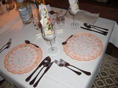 Essen bei Kerzenschein Cena con candele