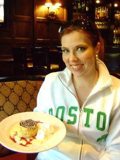 """The real original """"Boston Cream Pie"""" at the Omni Parker House in Boston!"""