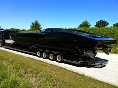 This $1.7M MTI ZR48 – 2700 HP Corvette Inspired is the ultimate Carbon Fiber Powerboat