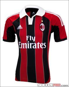 adidas AC Milan Home Jersey 2012-2013...$76.49