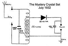 Figure 1. High performance crystal detector radio [5 KB
