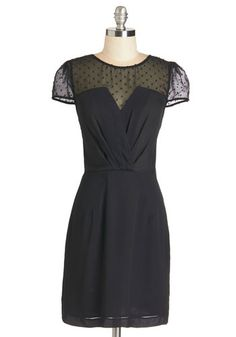 Nothing is Nicer Dress. An evening in this little black dress from Spanish brand Kling just cant be beat! #gold #prom #modcloth
