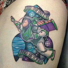 Amazing Buzz Lightyear Tattoo