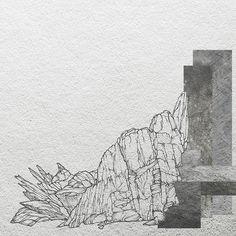 my sketch + photoshop by Daria Zaitseva, via Behance
