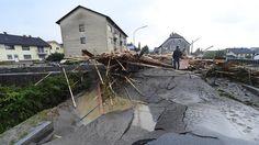 """""""Als ob ein Staudamm gebrochen wäre"""": Gewaltige Flutwelle rollt durch Niederbayern"""
