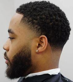 Black Boys Haircuts, Black Men Hairstyles, Afro Hairstyles, Haircuts For Men, Haircut Men, Modern Haircuts, Wedding Hairstyles, Black Hair Cuts, Curly Hair Cuts