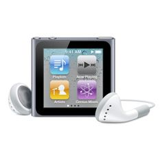 I would love an iPod for the gym; would listen to podcasts, I think, rather than music. #Technology can be inspiring.