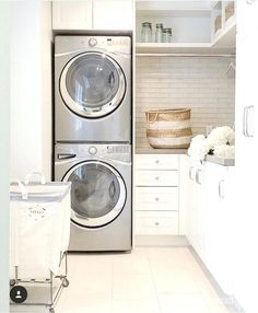 Image result for stackable laundry room ideas