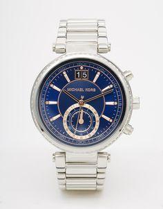 Michael Kors Silver Sawyer MK6224 Watch