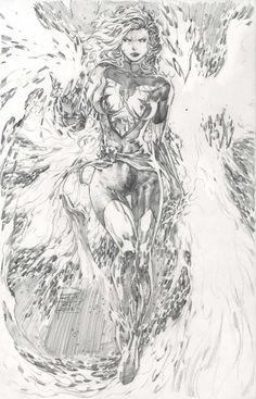 Dark Phoenix by Philip Tan  Comic Art