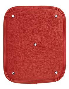 Hermes - Picotin bag in red. Base.