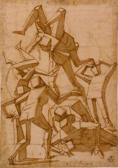 Luca Cambiaso, el pintor y dibujante de la geometría en el siglo XVI, ¿precursor del cubismo?. | Matemolivares