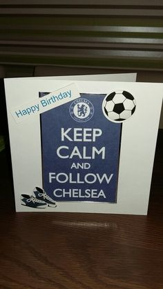 Quick card. Scanned from my printable board. Used double sided tape to stick on card. Cut out a fooball, boots & happy birthday sigh from an old card. Stuck on card with sricky pads to make a 3d effect. How long did it take? 5mins!!!! Cant be bad. X