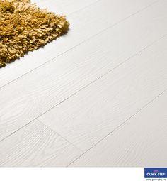 Quickstep UVG1394 - Witte eik passionata LHD - laminaat vloer die lijkt op een witte houten vloer