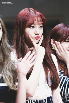Pristin Roa, Kim Min Kyung, Pledis Entertainment, Kpop Girls, Love Her, Rapper, Long Hair Styles, Pretty, Face