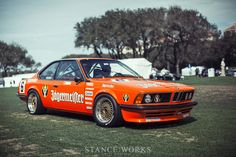 StanceWorks digs into the history of the BMW and his history as a Group A race car in the early Bmw Italia, Bmw Old, Bmw 635 Csi, Dunlop Tires, Big Six, Bmw 6 Series, Bmw Alpina, Jaguar Xj, Top Cars