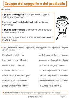 Math Crafts, Italian Language, Activities, School, Luigi, Studio, Alphabet, Schools, Study