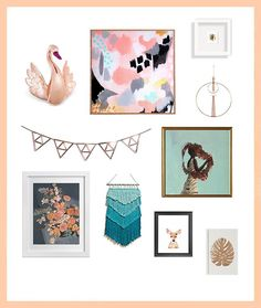 Whether your style is boho, preppy, or minimalist, this is how to get a Fall look for your gallery wall.