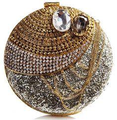 Handmade in India - Luxury Clutch by Meera Mahadevia http://strandofsilk.com/meera-mahadevia/product/accessories/bags/glitterati-luxury-clutch