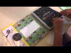 Erin Condren Life Planner Unboxing - YouTube