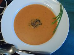 Dinner Plan-it: Spiced Carrot Tomato Creme with Wild Rice
