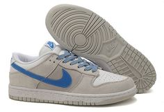 low priced c2986 cc4fc NIKE DUNK SB LOW WOMENS WHITE GREY ROYAL SALE 63.03 Grey Nikes, Foot  Locker,