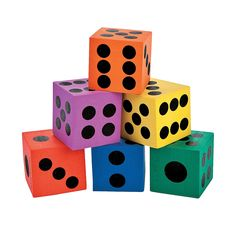 Playing Dice - OrientalTrading.com