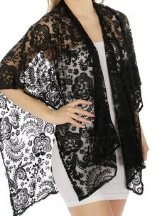 love this light wrap coverup ruana lace beauty http://www.yourselegantly.com/new-arrivals.html