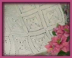 CrochetKim Free Crochet Pattern   Angel Afghan @crochetkim