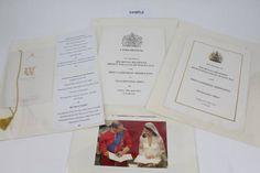 Prince William and Kate Middleton's wedding menu and rare royal ...