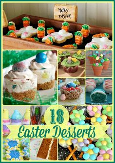 18 Easter Delicious Desserts #Easter #recipe