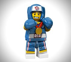 Limited Edition 2012 LEGO Olympic Athletes 1