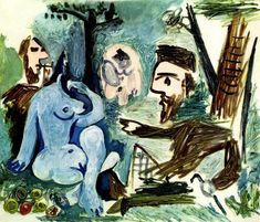 Picasso - Dejeuner sur l'herbe