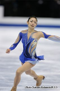 Miki Ando - Blue Figure Skating / Ice Skating dress inspiration for Sk8 Gr8 Designs