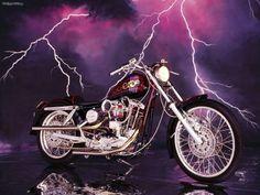 Fondo de Harley Davidson Sportster