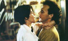 Lorraine Bracco, Michael Keaton in The Dream Team (1989)