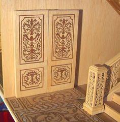 el arte de la marqueteria artesania casa de muecas