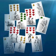 Die Karten tanzen unter der Wasseroberfläche. Es ist der Tanz zum #kartenlegen der Liebe. Was darfst Du mehr in Deine Arme nehmen?  Finde die gratis Antwort auf dem Orakelsee. Playing Cards, Photo Wall, Frame, Decor, Cartomancy, Runes, Legends, Love, Picture Frame