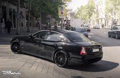 Maserati Quattroporte GTS | Madrid, Espanha | Car Spotting http://www.razaoautomovel.com/spotting/maserati-quattroporte-gts