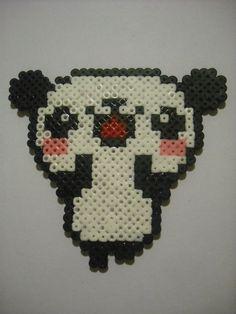Panda Hama Beads