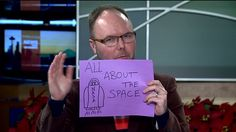 WATCH:  After technical difficulties, Q13 FOX News Social Media Editor Travis Mayfield drew pictures to illustrating his viral videos just-in-case.