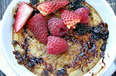 Baked {creme brulee} Oatmeal - Heathers French Press
